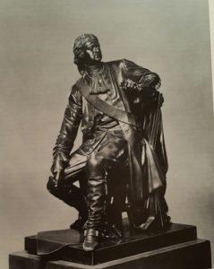 Опекушин. Петр I. 1872. Бронза. Находится в Военно-медицинском музее в Санкт-Петербурге