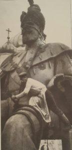 Демонтаж памятника императору Александру III.