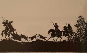 Ф. Толстой. Охота на кабана