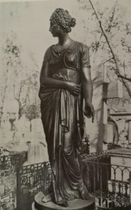 Мартос. Надгробие Е.И.Гагариной. Бронза. 1803. Александро-Невская лавра