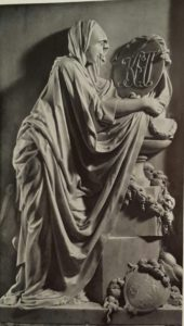 Ф.Гордеев. Надгробие Н.М.Голициной. 1780. Мрамор. Усыпальница Голицыных в Донском монастыре