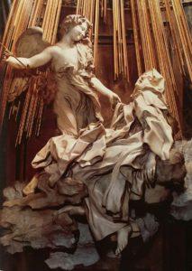 Бернини. Экстаз Св. Терезы. 1645-1652. Рим
