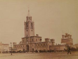 Фото. Вид Страстного монастыря - один из многих, уничтоженных в 1930-х. (основан в XVII в.)