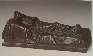 Фото. Раух. Модель надгробного памятника королевы Прусской Луизы. 1830-1840. Бронза. Петергоф