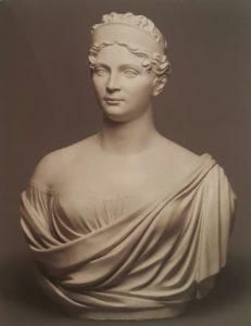 Х.Ф.Вольф. Портрет королевы Луизы. 1810