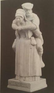 Фото. Gruppe der Weinsbergerin. 1844. Бисквит. 40 см