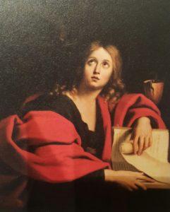 Фото. Доменикино (Цампьери). Иоанн Креститель (Евангелист Иоанн). 1630-ые. Государственный Эрмитаж