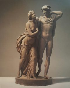 Фото. Сергель. Психея и Меркурий. 1770-ые. Терракота