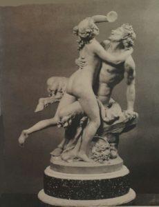 Фото. Клод Мишель (известен как Клодион). Сатир и вакханка