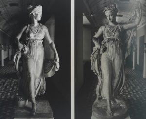 Торвальдсен. Танцовщицы. 1817-1822. Модели из гипса. Музей Торвальдсена в Копенгагене