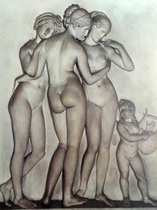 Торвальдсен. Три Грации.1817-1819. Музей Торвальдсена. Копенгаген