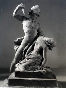 Канова. Ахилл, закалывающий Пентиселею. 1789-1799