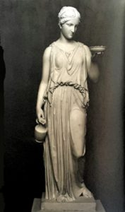 Торвальдсен. Геба. 1816-1822