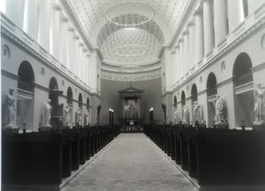 Собор Богоматери. Копенгаген. Статуи работы Торвальдсена