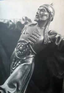 """Михайлов М. -хан Гирей в """"Бахчисарайском фонтане"""""""
