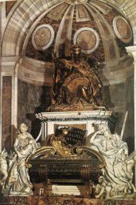 Бернини. надгробие папы Урбана VIII