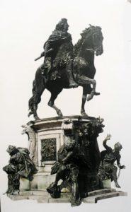 Фото. Шлютер. Памятник курфюрсту Бранденбургскому Фридриху Вильгельму