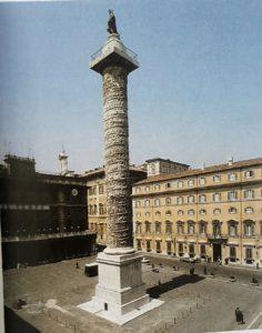 Фото. Колонна Марка Аврелия. Рим