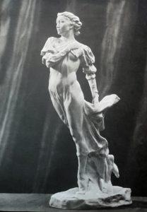 Уланова-Джульетта. Форфор