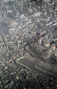 Фото. Центр Рима при Марке Аврелии. На Капитолийском холме стоял центральный храм Рима – храм Юпитера