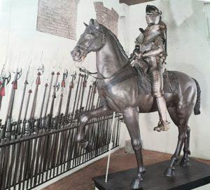 Фото. Конная арматура. Зал «Гаттамелата» в Оружейной палате во Дворце Дожей. Венеция