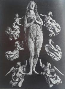 Фото. Рименшнейдер. Мюннерштадский алтарь. Мария Магдалина. 1490-1492. Мюнхен