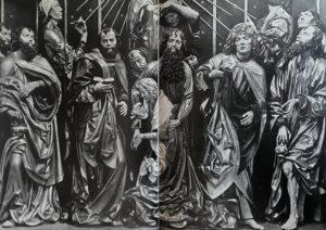 Фото. Штосс. Фрагмент краковского алтаря. Успение Марии