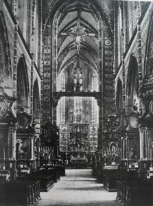 фото. Фейт Штосс. Алтарь церкви Марии в Кракове. 1477-1489
