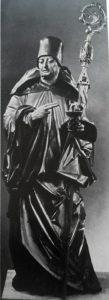 Фото. Пахер. Св. Бенедикт. Фрагмент алтаря