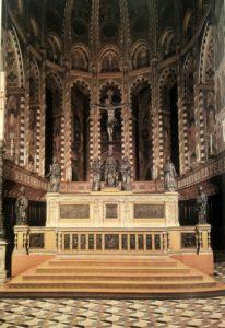Алтарь базилики Санг Антонио.Падуя