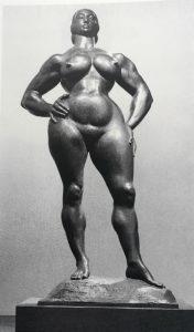 Фото. Гастон Лашез. Стоящая женщина. 1932