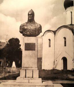 Фото. Орлов. Памятник Александру Невскому в Переславле-Залесском. Открыт 28 декабря 1958