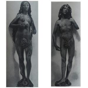 Фото. Рименшнейдер. Адам и Ева. 1491-1493