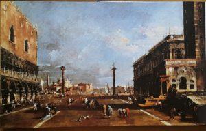 фото. Ф. Гварди. Пьяцетта Сан-Марко с видом на остров Сан-Джорджо-Маджоре. Венеция. 1775-1785