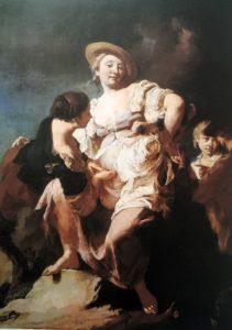 Джамбатиста Пьяцетта. Гадалка. Около 1740