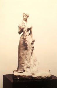 Фото. Трубецкой. Портрет великой княгини Елизаветы Федоровны. 1898. Статуэтка высотой 40 см
