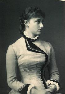 Фото. Великая княгиня Елизавета Федоровна. 1882