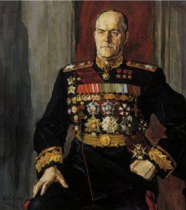 Фото. Корин. Портрет маршала Жукова
