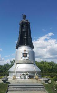 Фото 2. В.Клыков. Памятник Николаю II