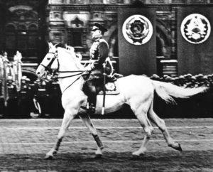 Фото. Жуков на параде Победы. 24 июня 1945