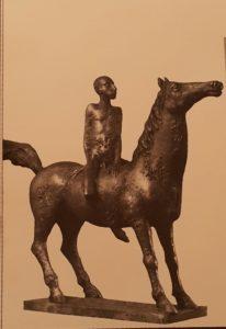 Фото. Х.-Х.Пальм. На красном коне. 1979