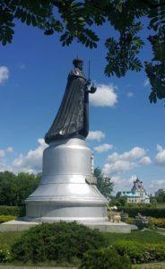 Фото. В.Клыков. Памятник Николаю II