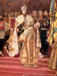 Фото. Ж.Беккер. Коронация Александра III и Марии Федоровны. 1888. Фрагмент