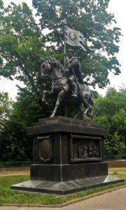 Фото. В. Клыков. Памятник князю Дмитрию Донскому