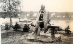 Фото. Клыков. Памятник Н.Рубцову