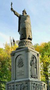 фото. Клыков. Памятник Св. Владимиру. Белгород. 1998.