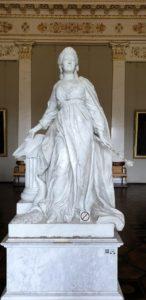 Шубин. Екатерина II законодательница. 1789-1790. Русский музей. Фото Ж.Кузьменко