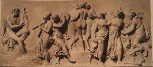Торвальдсен. Танец Муз на горе Геликон. 1804-1816