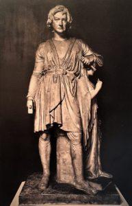 Фиг.5. Автопортрет с Надеждой. 1839. Модель из гипса. Копенгаген. Музей Торвальдсена