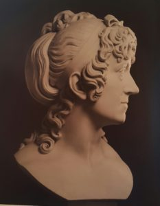 Торвальдсен. Бюст Элизабет Шубарт. 1804. Копенгаген. Музей Торвальдсена